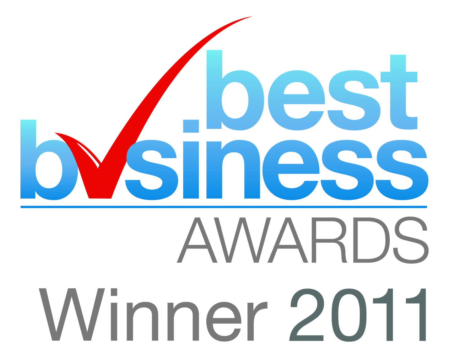 BEST BUSINESS AWARDS WINNER 2011