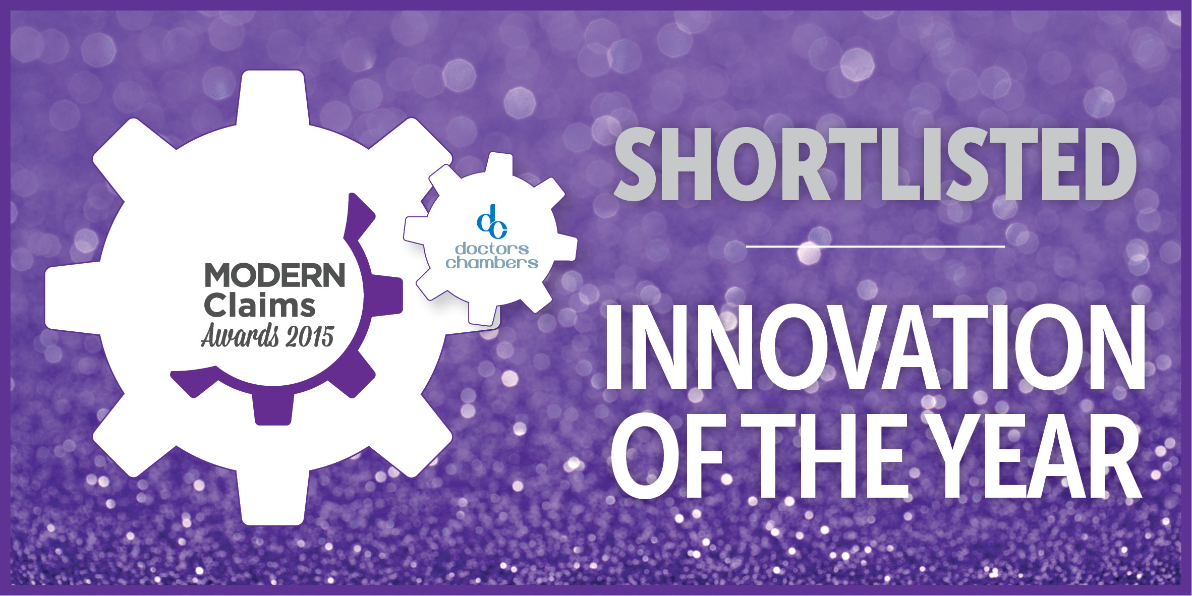 FINALIST, MODERN CLAIMS AWARDS – INNOVATION OF THE YEAR 2015