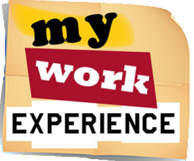 writing about your work experience