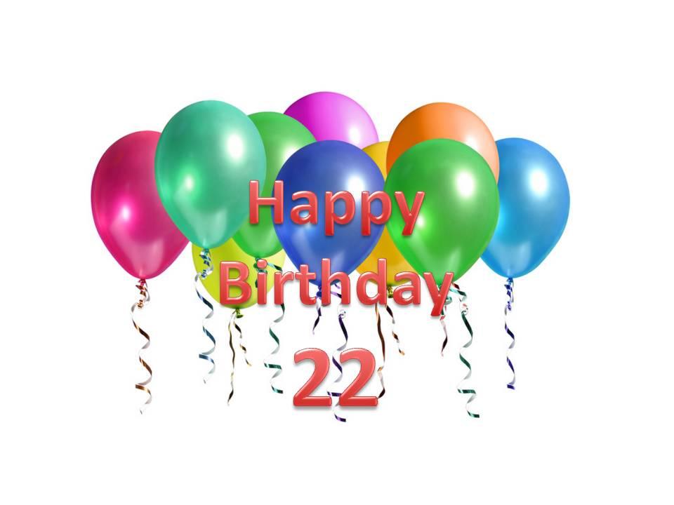 Стихи на день рождения парню 22 года
